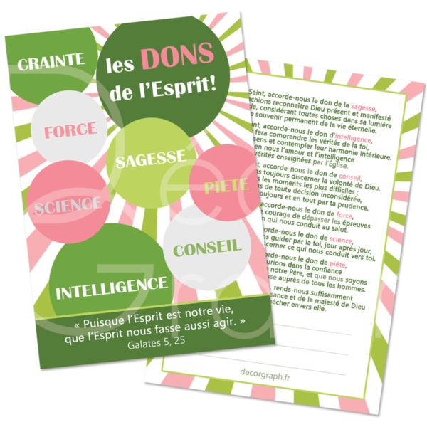 7 dons de l'Esprit Saint