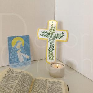 croix hosanna jaune