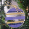 ronde de Noël plexiglas