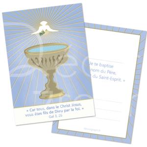 souvenir de baptême