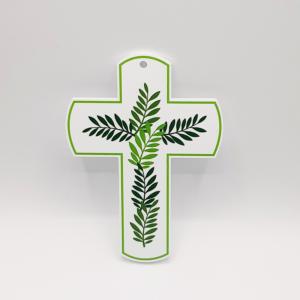 croix rameaux verte