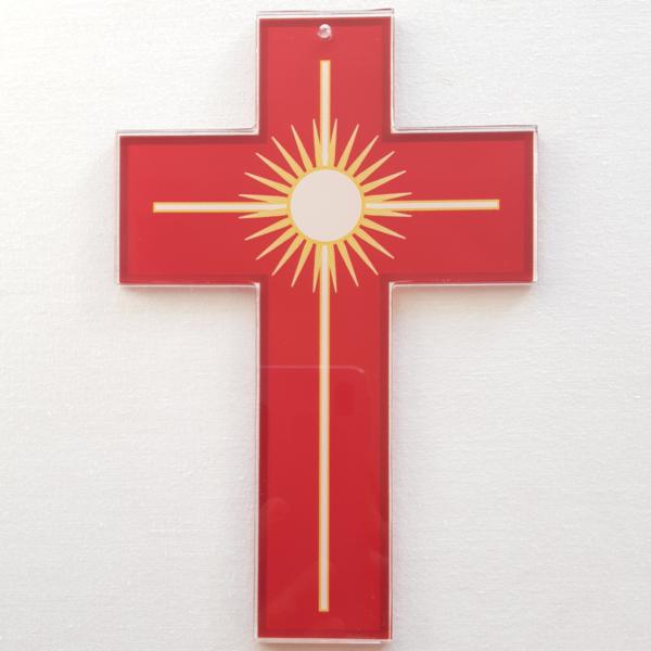 crois rouge de la Passion, du martyr