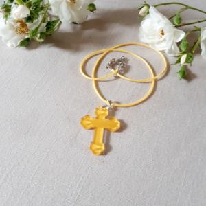 pendentif croix originale